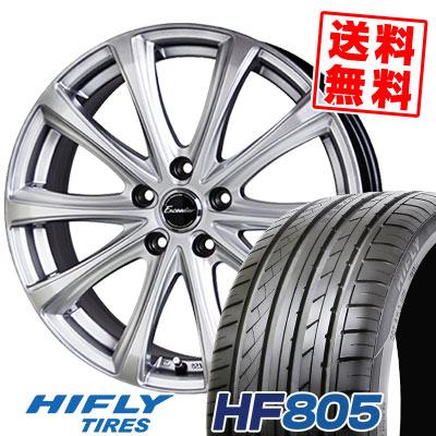 235/45R18 98W XL HIFLY ハイフライ HF805 エイチエフ ハチマルゴ Exceeder E04 エクシーダー E04 サマータイヤホイール4本セット