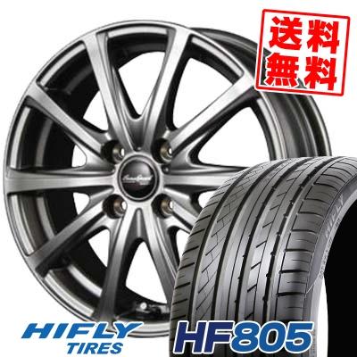 195/45R16 84V XL HIFLY ハイフライ HF805 HF805 EuroSpeed V25 ユーロスピード V25 サマータイヤホイール4本セット
