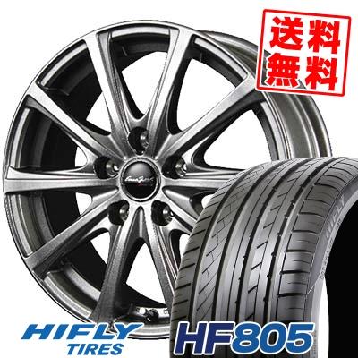205/55R17 95W XL HIFLY ハイフライ HF805 HF805 EuroSpeed V25 ユーロスピード V25 サマータイヤホイール4本セット