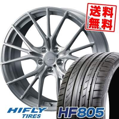 215/35R19 85W XL HIFLY ハイフライ HF805 エイチエフ ハチマルゴ WEDS F ZERO FZ-1 ウェッズ エフゼロ FZ-1 サマータイヤホイール4本セット