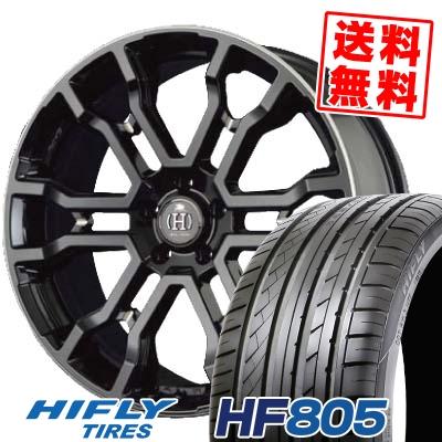 245/45R19 102W XL HIFLY ハイフライ HF805 HF805 RAYS FULL CROSS CROSS SLEEKERS T6 レイズ フルクロス クロススリーカーズ T6 サマータイヤホイール4本セット