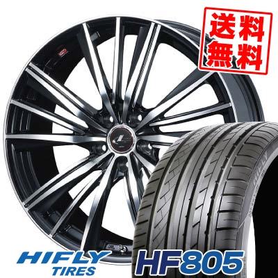 215/55R16 HIFLY ハイフライ HF805 HF805 weds LEONIS FY ウェッズ レオニス FY サマータイヤホイール4本セット