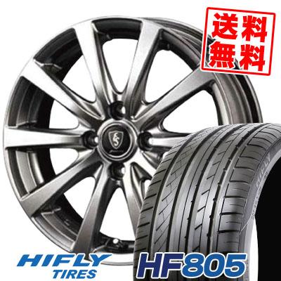 195/55R16 HIFLY ハイフライ HF805 HF805 Euro Speed G10 ユーロスピード G10 サマータイヤホイール4本セット