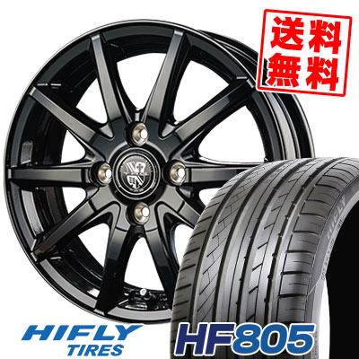 205/55R15 88V HIFLY ハイフライ HF805 エイチエフ ハチマルゴ TRG-GB10 TRG GB10 サマータイヤホイール4本セット