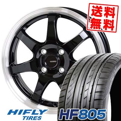 195/45R16 84V XL HIFLY ハイフライ HF805 エイチエフ ハチマルゴ G.speed P-03 ジースピード P-03 サマータイヤホイール4本セット