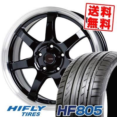 215/55R16 97V XL HIFLY ハイフライ HF805 エイチエフ ハチマルゴ G.speed P-03 ジースピード P-03 サマータイヤホイール4本セット