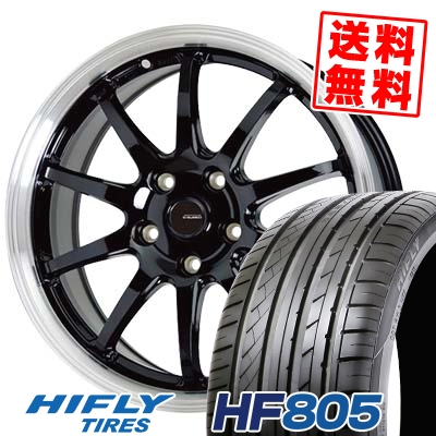 215/55R16 97V XL HIFLY ハイフライ HF805 エイチエフ ハチマルゴ G.speed P-04 ジースピード P-04 サマータイヤホイール4本セット
