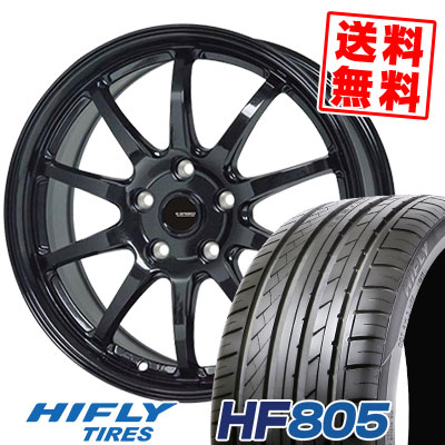 205/55R16 94W XL HIFLY ハイフライ HF805 エイチエフ ハチマルゴ G.speed G-04 Gスピード G-04 サマータイヤホイール4本セット