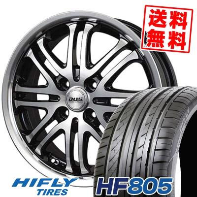 205/40R17 84W HIFLY ハイフライ HF805 HF805 BADX D.O.S. DEEP HARDES バドックス D.O.S ディープハーデス サマータイヤホイール4本セット