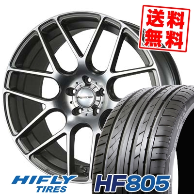 245/45R19 102W XL HIFLY ハイフライ HF805 エイチエフ ハチマルゴ HYPERION CVM ハイペリオン CVM サマータイヤホイール4本セット