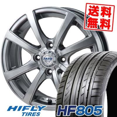 205/55R15 88V HIFLY ハイフライ HF805 HF805 ZACK JP-110 ザック JP110 サマータイヤホイール4本セット