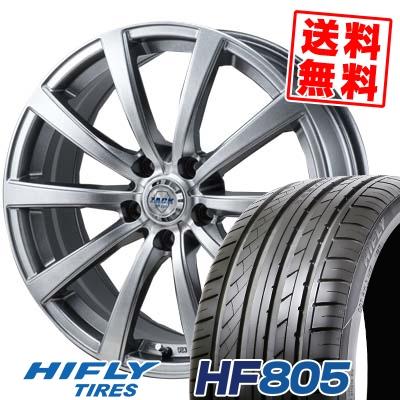 205/55R16 94W XL HIFLY ハイフライ HF805 HF805 ZACK JP-110 ザック JP110 サマータイヤホイール4本セット