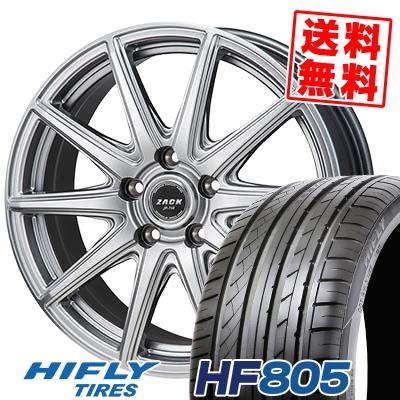 215/35R18 84W XL HIFLY ハイフライ HF805 エイチエフ ハチマルゴ ZACK JP-710 ザック ジェイピー710 サマータイヤホイール4本セット