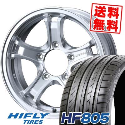 205/55R16 94W XL HIFLY ハイフライ HF805 エイチエフ ハチマルゴ KEELER FORCE キーラーフォース サマータイヤホイール4本セット【取付対象】