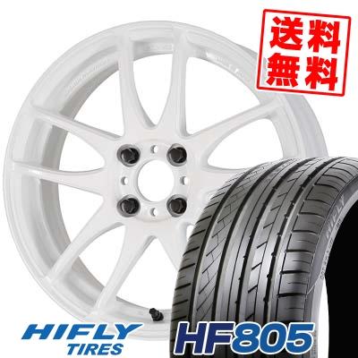 195/45R15 82V XL HIFLY ハイフライ HF805 HF805 WORK EMOTION CR kiwami ワーク エモーション CR 極 サマータイヤホイール4本セット