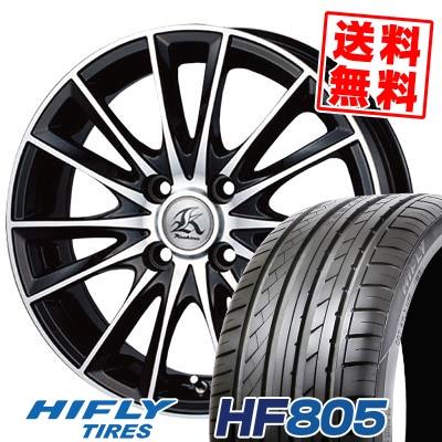 165/50R15 72V HIFLY ハイフライ HF805 エイチエフ ハチマルゴ Kashina FV7 カシーナ FV7 サマータイヤホイール4本セット