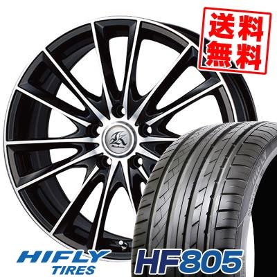 235/45R18 98W XL HIFLY ハイフライ HF805 エイチエフ ハチマルゴ Kashina FV7 カシーナ FV7 サマータイヤホイール4本セット