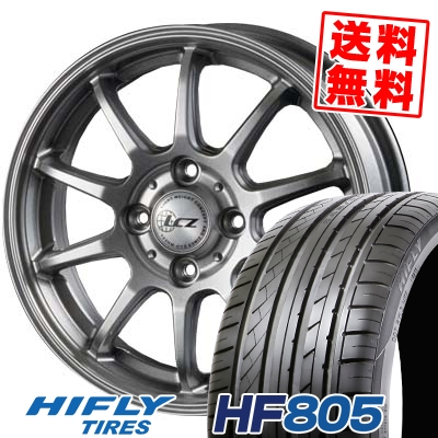 205/55R15 88V HIFLY ハイフライ HF805 HF805 LCZ010 LCZ010 サマータイヤホイール4本セット
