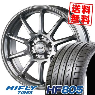 205/55R17 95W XL HIFLY ハイフライ HF805 HF805 LCZ010 LCZ010 サマータイヤホイール4本セット