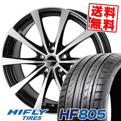215/55R16 97V XL HIFLY ハイフライ HF805 HF805 Laffite LE-03 ラフィット LE-03 サマータイヤホイール4本セット