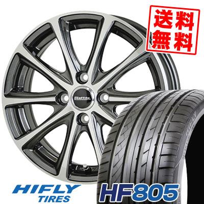205/45R17 88W XL HIFLY ハイフライ HF805 エイチエフ ハチマルゴ Laffite LE-04 ラフィット LE-04 サマータイヤホイール4本セット
