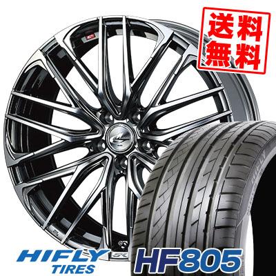 225/35R18 87W XL HIFLY ハイフライ HF805 エイチエフ ハチマルゴ WEDS LEONIS SK ウェッズ レオニスSK サマータイヤホイール4本セット