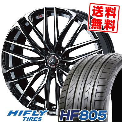 245/45R19 102W XL HIFLY ハイフライ HF805 エイチエフ ハチマルゴ WEDS LEONIS SK ウェッズ レオニスSK サマータイヤホイール4本セット
