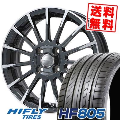 195/45R16 84V XL HIFLY ハイフライ HF805 エイチエフ ハチマルゴ Leyseen F-XV レイシーン FX-V サマータイヤホイール4本セット