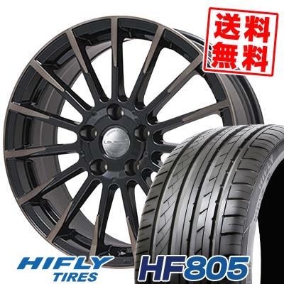 225/50R17 98W XL HIFLY ハイフライ HF805 エイチエフ ハチマルゴ Leyseen F-XV レイシーン FX-V サマータイヤホイール4本セット