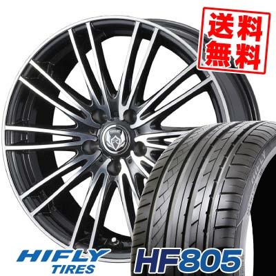 235/45R18 HIFLY ハイフライ HF805 HF805 weds RIZLEY MA ウェッズ ライツレー エムエー サマータイヤホイール4本セット