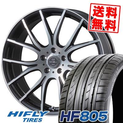 205/55R17 95W XL HIFLY ハイフライ HF805 エイチエフ ハチマルゴ VOLTEC HYPER MS-7 ボルテック ハイパー MS-7 サマータイヤホイール4本セット