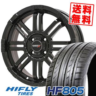 165/50R15 72V HIFLY ハイフライ HF805 エイチエフ ハチマルゴ B-MUD X Bマッド エックス サマータイヤホイール4本セット