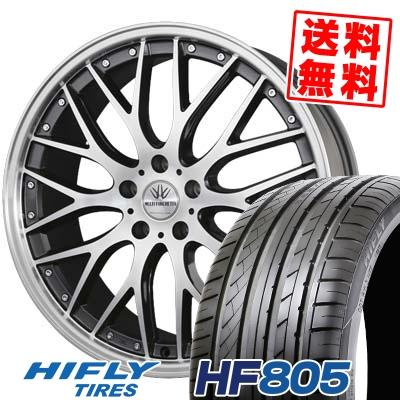 235/40R18 95W XL HIFLY ハイフライ HF805 HF805 BADX LOXARNY MULTIFORCHETTA バドックス ロクサーニ マルチフォルケッタ サマータイヤホイール4本セット