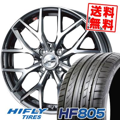 215/40R17 87W XL HIFLY ハイフライ HF805 HF805 weds LEONIS MX ウェッズ レオニス MX サマータイヤホイール4本セット