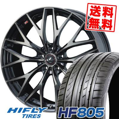 225/50R17 98W XL HIFLY ハイフライ HF805 HF805 weds LEONIS MX ウェッズ レオニス MX サマータイヤホイール4本セット