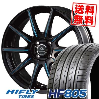 205/40R17 84W HIFLY ハイフライ HF805 エイチエフ ハチマルゴ MILANO SPEED X10 ミラノスピード X10 サマータイヤホイール4本セット