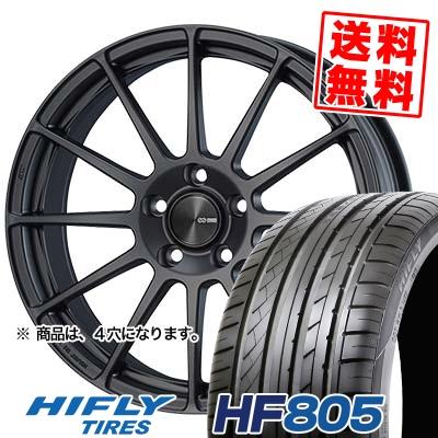 205/55R15 88V HIFLY ハイフライ HF805 エイチエフ ハチマルゴ ENKEI PF03 エンケイ PF03 サマータイヤホイール4本セット
