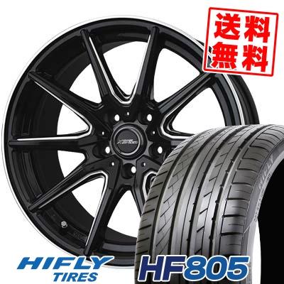 225/35R18 87W XL HIFLY ハイフライ HF805 HF805 CROSS SPEED PREMIUM RS10 クロススピード プレミアム RS10 サマータイヤホイール4本セット