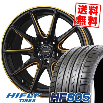 235/45R18 98W XL HIFLY ハイフライ HF805 エイチエフ ハチマルゴ CROSS SPEED PREMIUM RS10 クロススピード プレミアム RS10 サマータイヤホイール4本セット