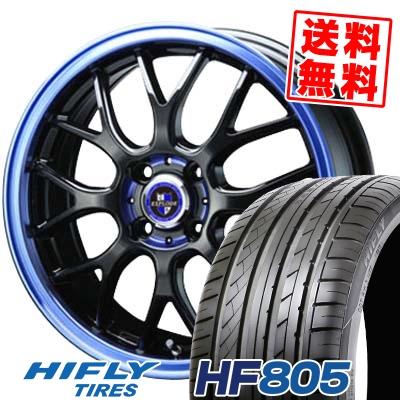 185/55R16 HIFLY ハイフライ HF805 HF805 EXPLODE RBM エクスプラウド RBM サマータイヤホイール4本セット