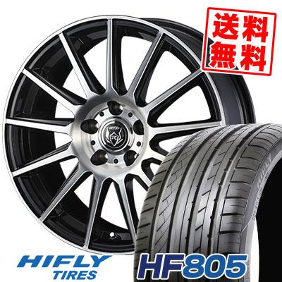 215/45R18 93W XL HIFLY ハイフライ HF805 エイチエフ ハチマルゴ WEDS RIZLEY KG ウェッズ ライツレーKG サマータイヤホイール4本セット