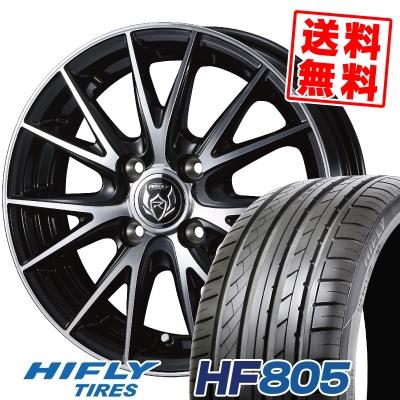 165/50R15 72V HIFLY ハイフライ HF805 エイチエフ ハチマルゴ WEDS RIZLEY VS ウェッズ ライツレー VS サマータイヤホイール4本セット【取付対象】
