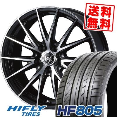 235/50R18 101W XL HIFLY ハイフライ HF805 エイチエフ ハチマルゴ WEDS RIZLEY VS ウェッズ ライツレー VS サマータイヤホイール4本セット
