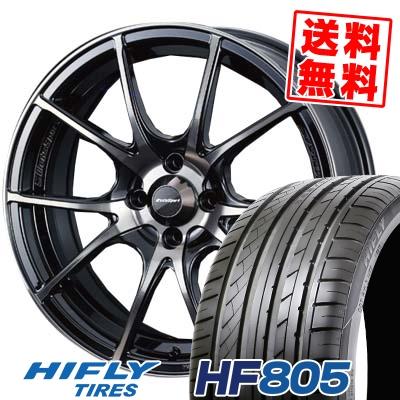 205/55R15 88V HIFLY ハイフライ HF805 HF805 wedsSport SA-10R ウエッズスポーツ SA10R サマータイヤホイール4本セット