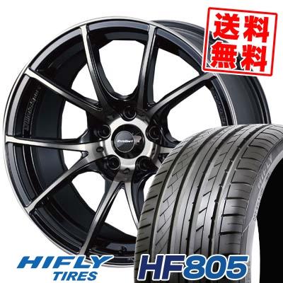 205/55R17 95W XL HIFLY ハイフライ HF805 エイチエフ ハチマルゴ wedsSport SA-10R ウエッズスポーツ SA10R サマータイヤホイール4本セット