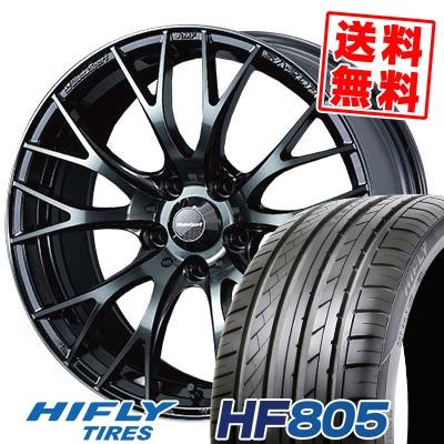 205/55R16 94W XL HIFLY ハイフライ HF805 エイチエフ ハチマルゴ WedsSport SA-20R ウェッズスポーツ SA20R サマータイヤホイール4本セット