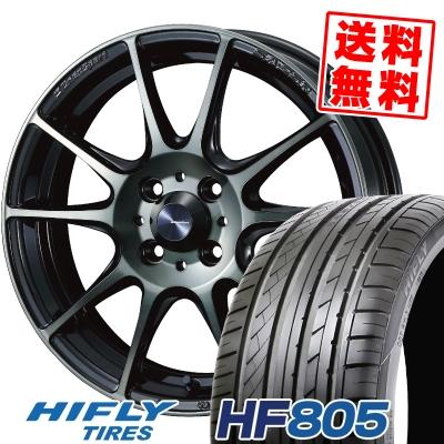 195/50R16 88V XL HIFLY ハイフライ HF805 エイチエフ ハチマルゴ WedsSport SA-25R ウェッズスポーツ SA-25R サマータイヤホイール4本セット