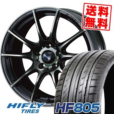 225/55R16 99V XL HIFLY ハイフライ HF805 エイチエフ ハチマルゴ WedsSport SA-25R ウェッズスポーツ SA-25R サマータイヤホイール4本セット