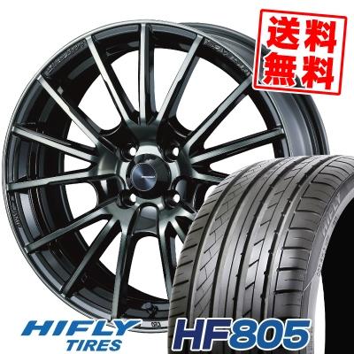 165/50R15 72V HIFLY ハイフライ HF805 エイチエフ ハチマルゴ WedsSport SA-35R ウェッズスポーツ SA-35R サマータイヤホイール4本セット
