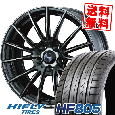 205/55R16 94W XL HIFLY ハイフライ HF805 エイチエフ ハチマルゴ WedsSport SA-35R ウェッズスポーツ SA-35R サマータイヤホイール4本セット